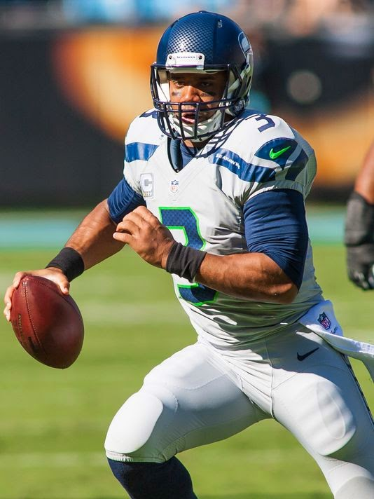 Russell Wilson and the Seahawks snapped a two-game slide with their 13-9 win over the Panthers
