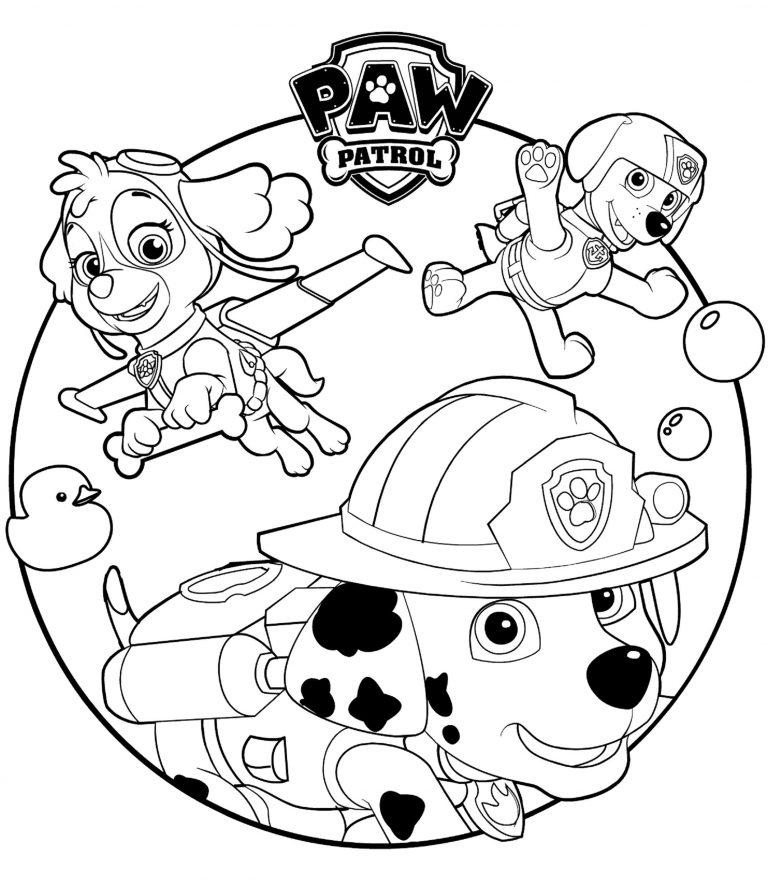 Paw Patrol Ausmalbilder - Paw Patrol zum Ausmalen - Ausmalbilder ...