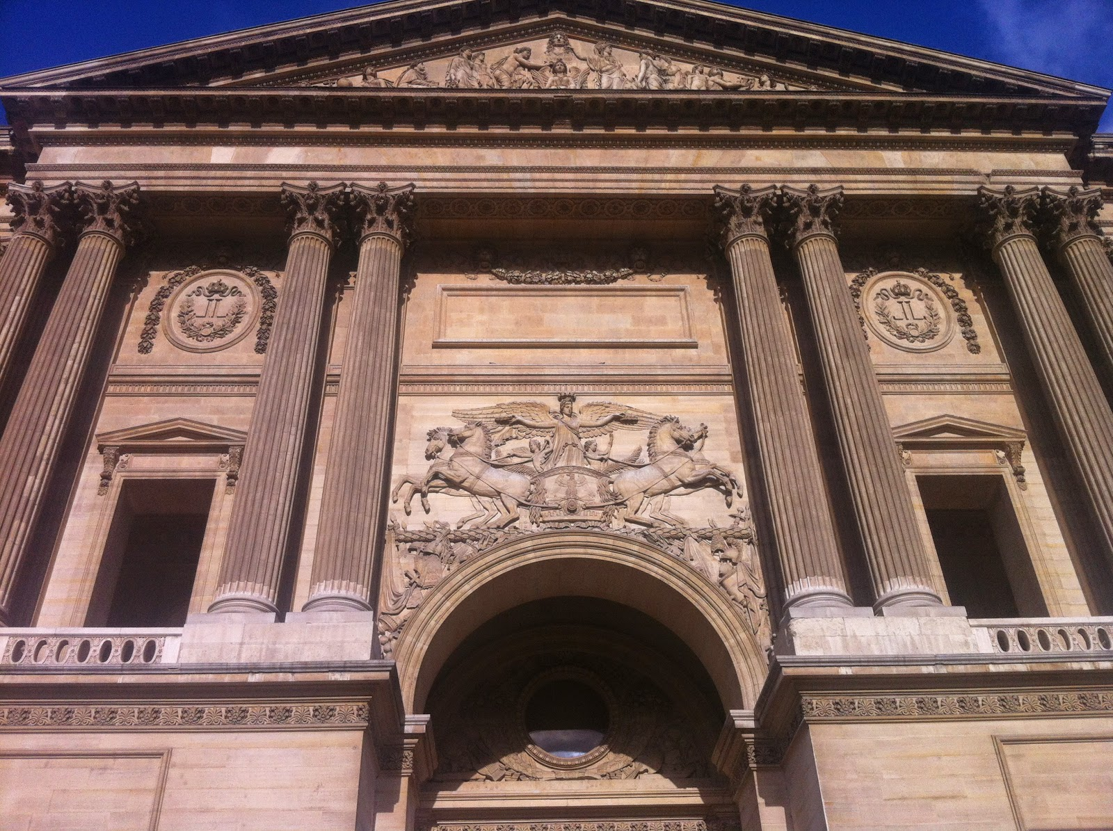 parisian landmarks and the pere lachaise a little further north