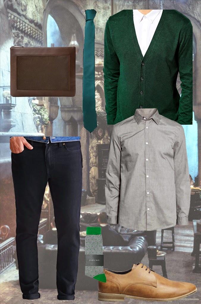 uniforme serpentard slytherin suit draco malfoy