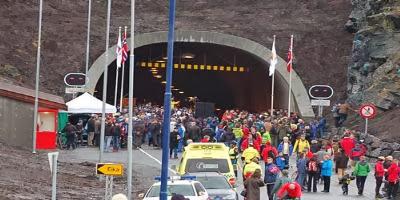 Eiksund Tunnel Entrance