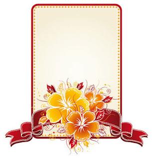 bunga sepatu, frame, froral