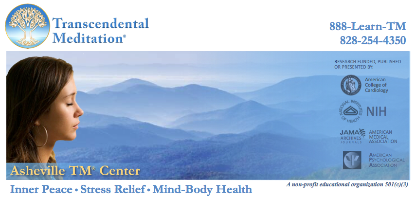 MeditationAsheville.org • Transcendental Meditation Courses • Free Introductory Lectures
