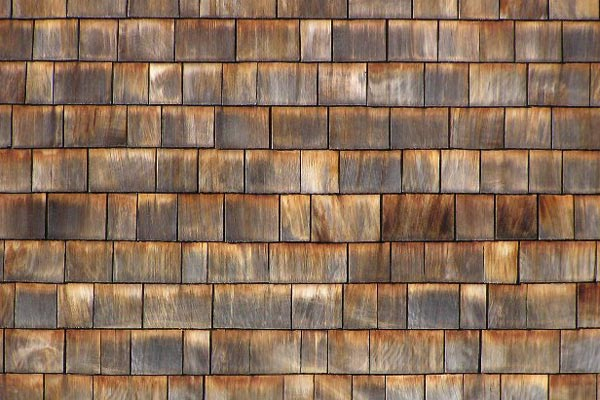 How do i love thee rustic chic natural wood siding for Natural wood siding