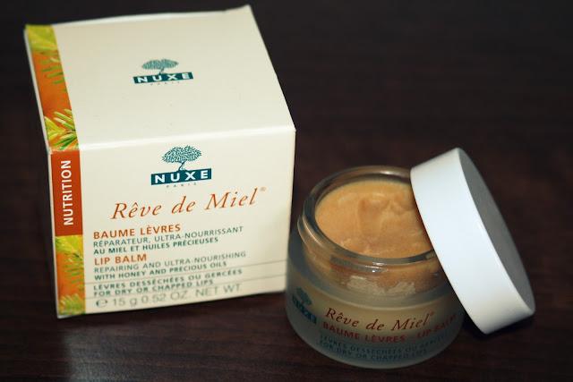 Nuxe reve de miel nourishing lip balm