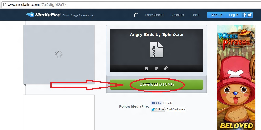 Download game Angry Birds di media fire seperti yang telah saya ...