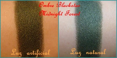 Swatches Ombre Blackstar BY TERRY Midnight Forest