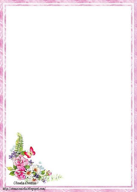 Fogli decorati da stampare gratis qz31 regardsdefemmes - Fogli da colorare gratis per i ragazzi ...