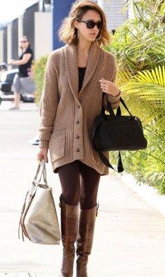 Indoor un repaso a las leggins - Combinar color marron ...