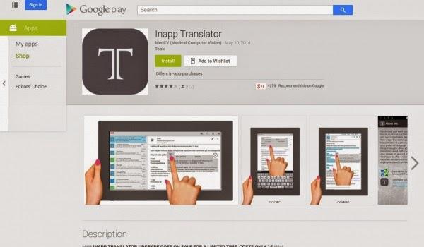 inapp translator