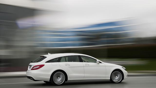 Mercedes Benz CLS 250 CDI White