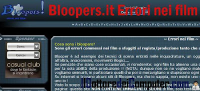 bloopers errori nei film