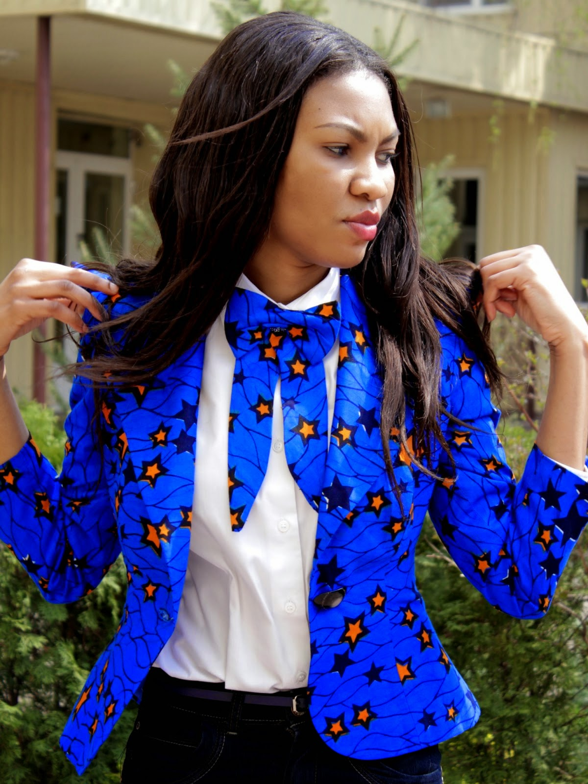 Kitenge Top New African Print Wear The Click Styles