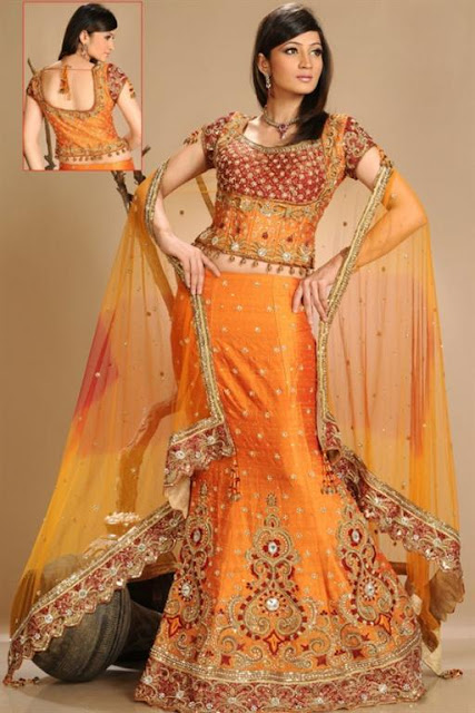 Bridal Embroidered Lehnga