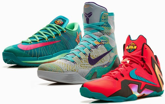 The second series from the 2014 Nike Basketball Team Elite Series is known as the \u0026quot;Hero\u0026quot; Collection. It features the Nike LeBron 11 Elite, Nike Kobe 9 Elite ...