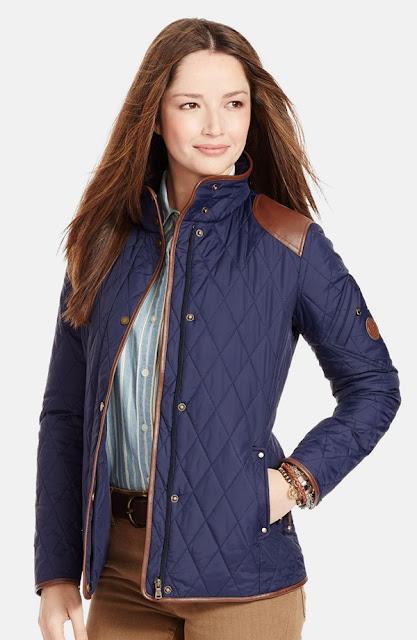 ralph lauren equestrian quilted jacket nordstrom anniversary sale
