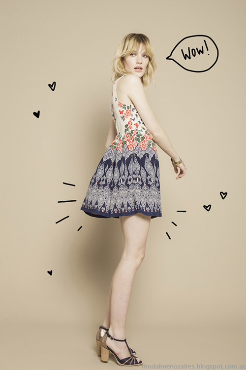 Moda Verano 2015 Wanama vestidos.