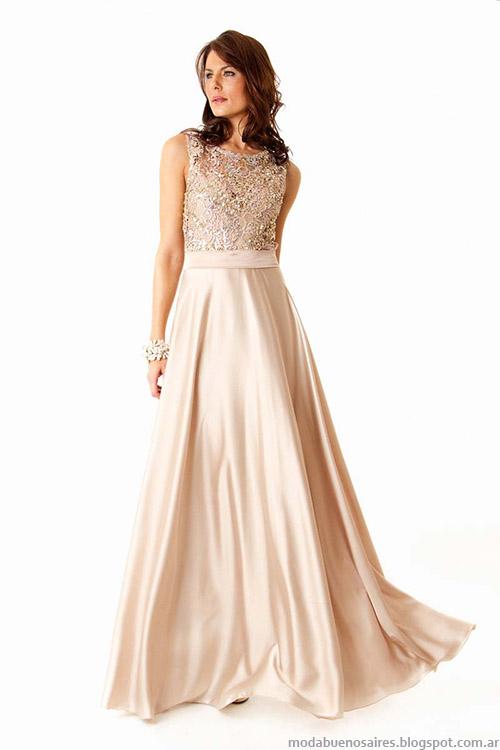 Vestidos de fiesta 2015 Veronica Far. Moda 2015.