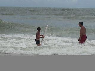 Boys surfing, Myrtle Beach, SC :: All Pretty Things
