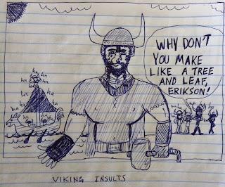 vikings insult leif ericson