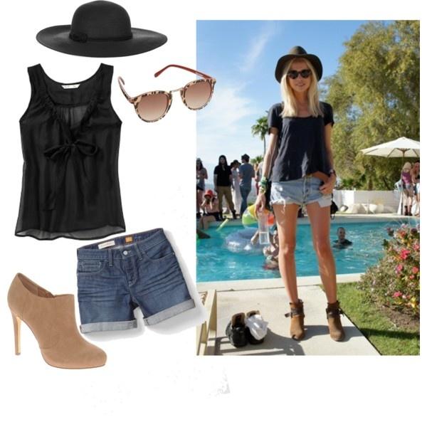 The Peak of Tru00e8s Chic Coachella Fashion