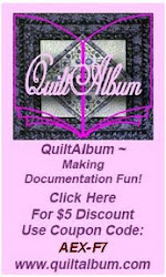 Buy a Quilt Album DVD or Download With My Discount Code:  AEX-F7