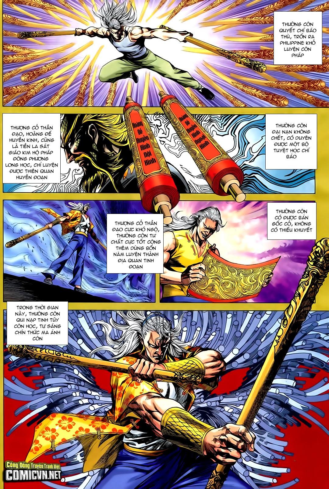 Tân Tác Long Hổ Môn chap 730 - Trang 10