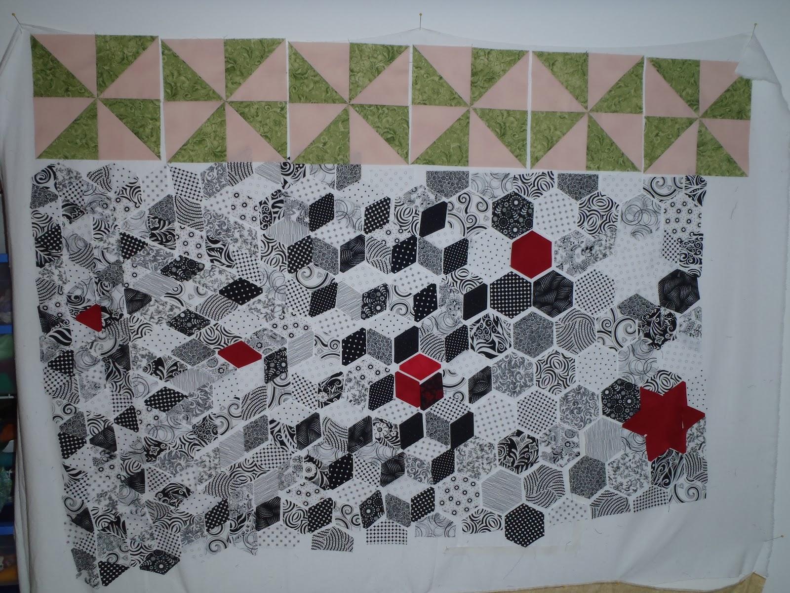 Krista Quilts Design Wall Monday Nov 7
