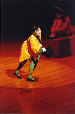 Pinocchio, community theater, Beachwood Community Theater, Jiminy Cricket, favorite theater role, musical theater, 1980's, Jamie Allison Sanders