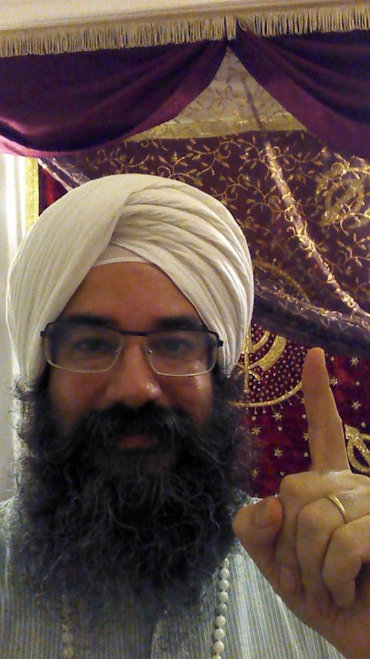 Ram Krishan, lider Edpiritual de los Shik