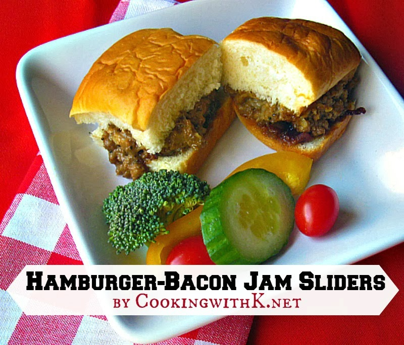 Hamburger-Bacon Slider
