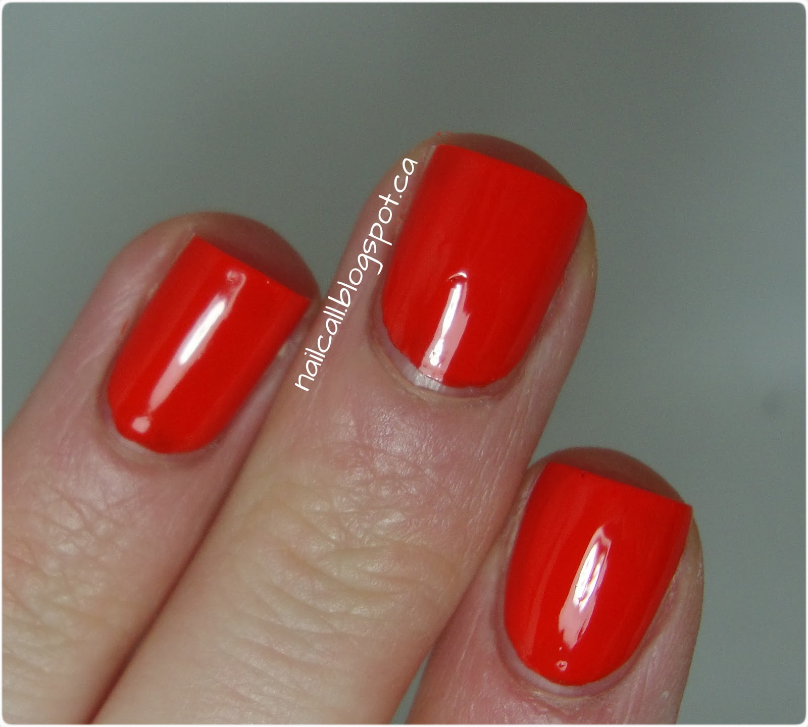 OPI The Drummer is Hot swatch 2