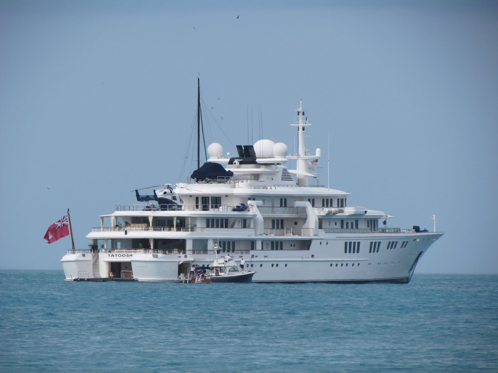 Megayacht TATOOSH