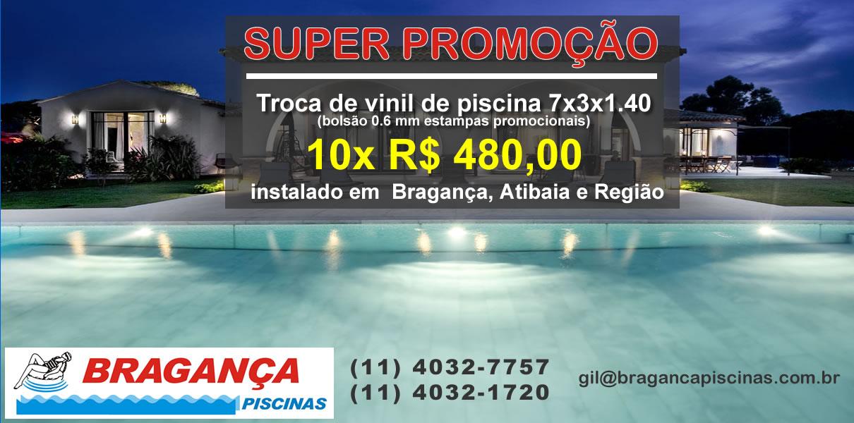 Piscina Bragança Paulista
