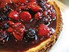 berry ricotta cheesecake