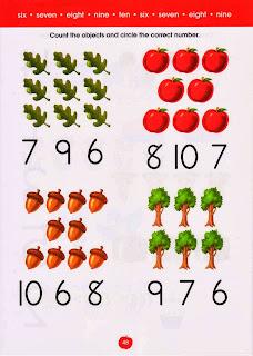 exercícios com números em inglês