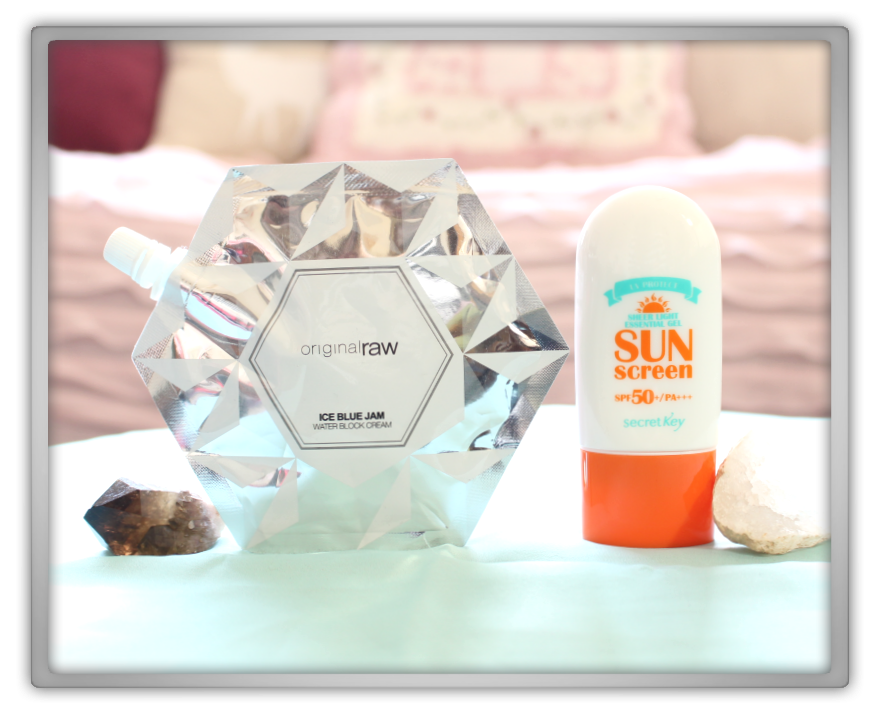 겟잇뷰티박스 by 미미박스 memebox beautybox Superbox #62 Just Gellin´ unboxing review box original raw blue jam cream secret key gel sun screen