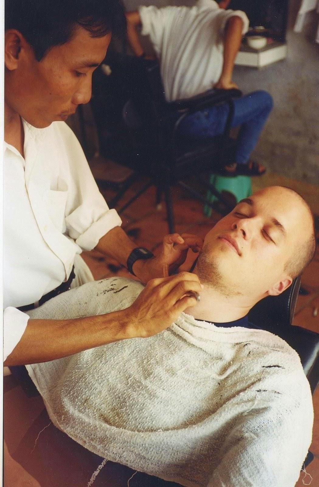 Close Shave in Vietnam