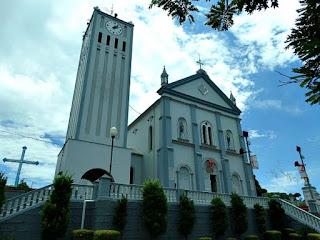 Igreja São Pedro e São Paulo,  a Matriz de Nova Roma do Sul.