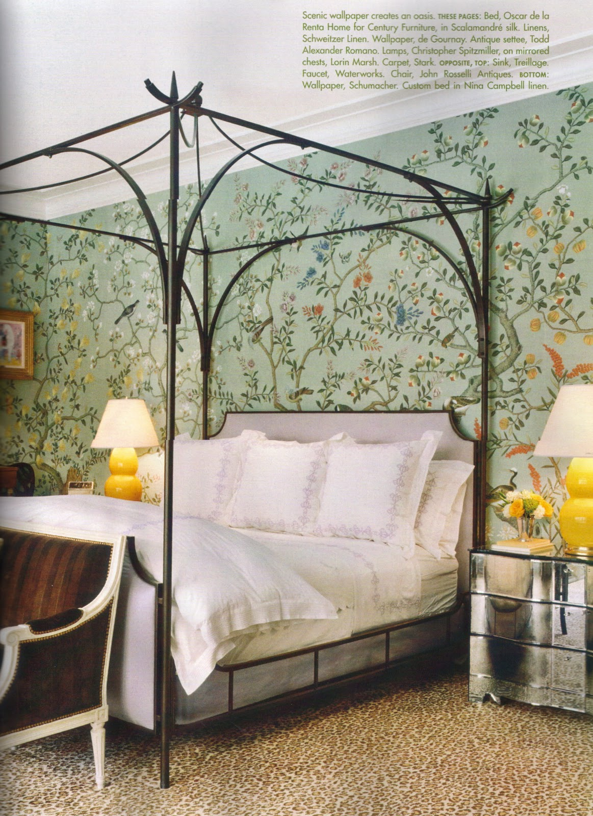 Chinoiserie Chic Miles Redd Goes Green