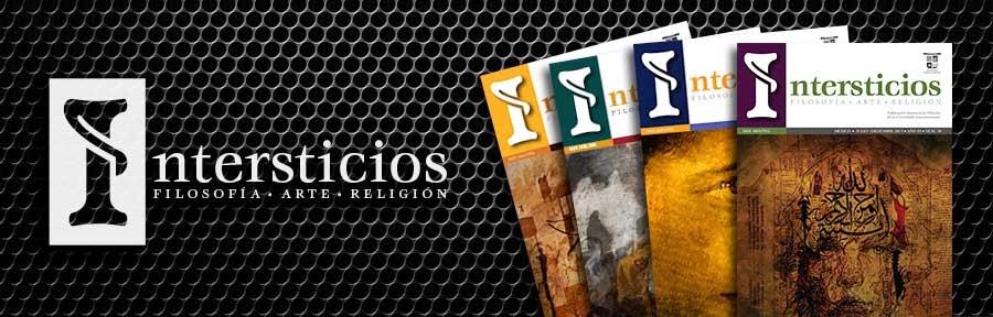 Intersticios. Filosofía, Arte, Religión