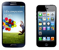 Samsung-Galaxy-S4-vs-Apple-iPhone5