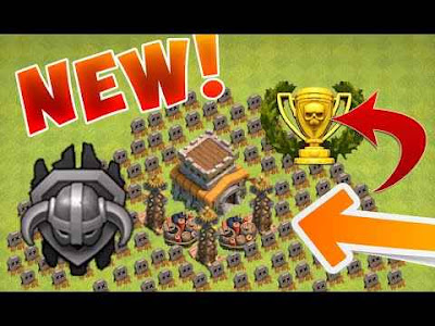 Town Hall 8 Base Prematur Terkuat Farming Dan War
