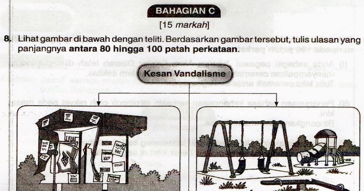 kesan vandalisme kepada sekolah Panduan, nota & latihan bahasa melayu bagi pelajar spm & pmr halaman 2 diari diariku diari sekolahku diari d'laman nurany kc.