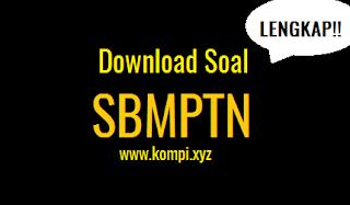 Kumpulan Download Soal SBMPTN Paling Lengkap