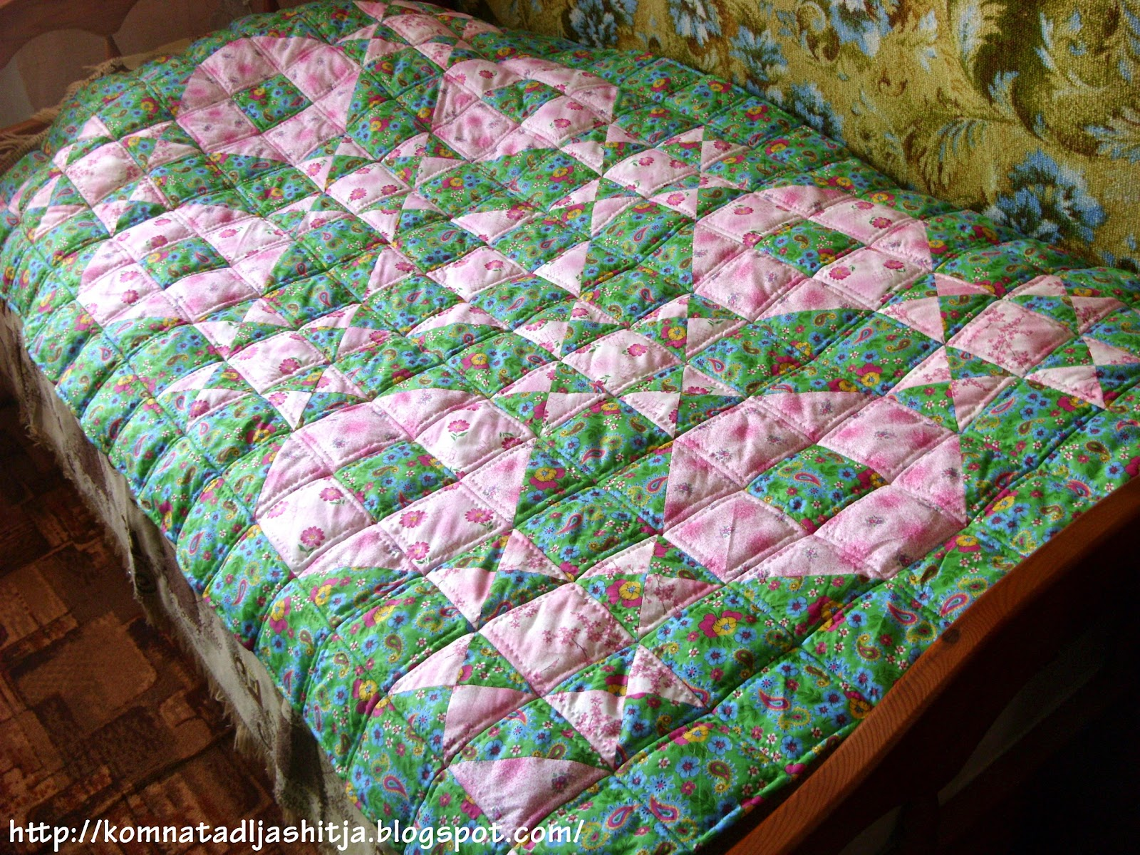 Одеяло, пэчворк