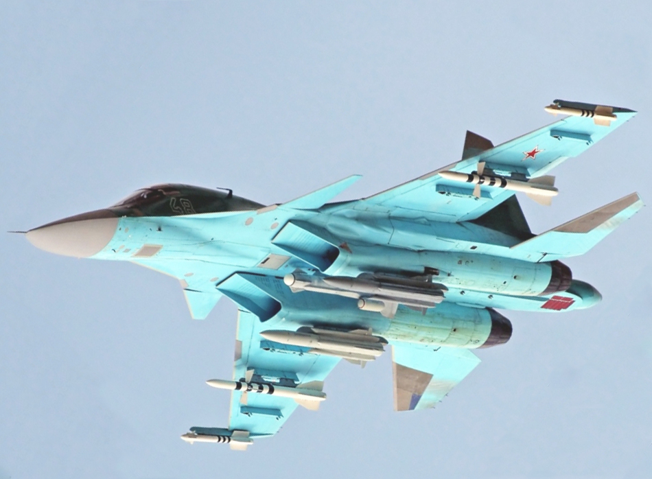 34-EO-Targeting-SystemRussian+Sukhoi+Su-34 ...