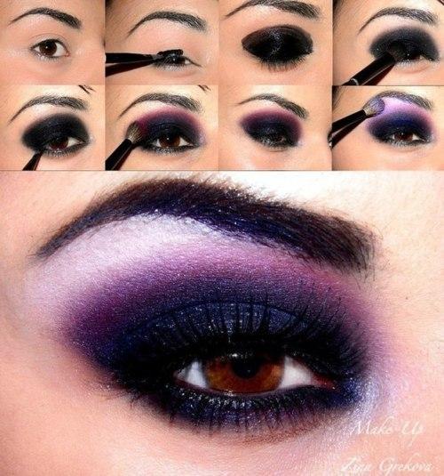 Todo por los pelos formas de maquillarse los ojos for Distintas formas de maquillarse los ojos