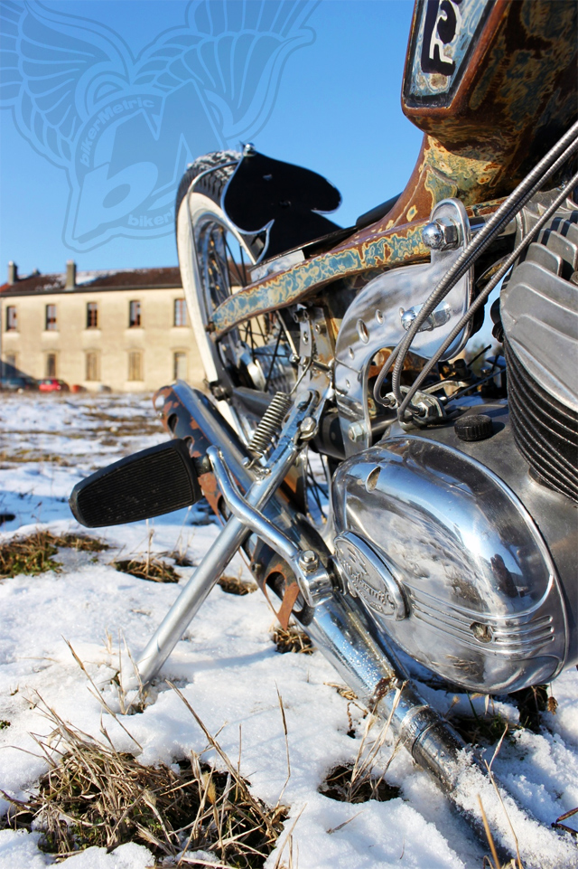 motobecane/malaguti 50cc moped chopper | frenchmonkeys
