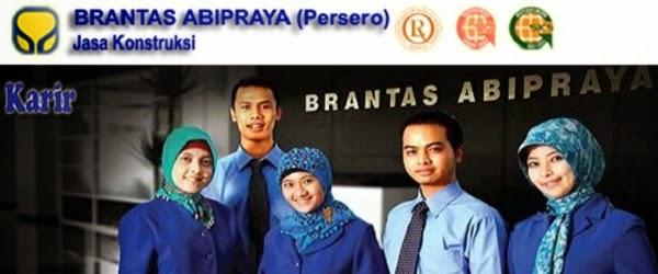 PT BRANTAS ABIPRAYA (PERSERO) : SENIOR BUSINESS DEVELOPMENT MANAGER, MARKETING EXECUTIF DAN PROJECT MANAGER - BUMN, INDONESIA